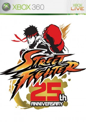 Street Fighter 25th Anniversary Collector's Set Xbox 360 Cover