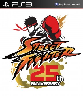 Street Fighter 25th Anniversary Collector's Set PS3 Cover