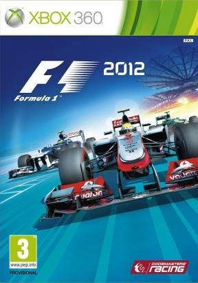 F1 2012 Xbox 360 Cover