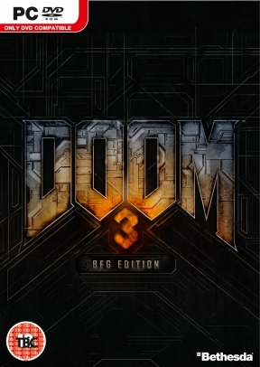 DOOM 3 BFG Edition PC Cover