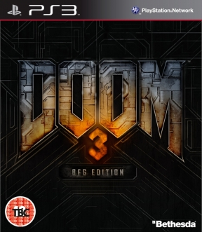 DOOM 3 BFG Edition PS3 Cover