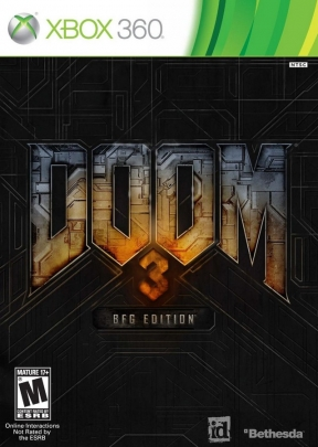 DOOM 3 BFG Edition Xbox 360 Cover