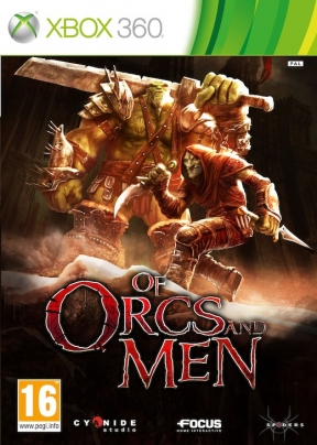 Of Orcs and Men Xbox 360 Cover