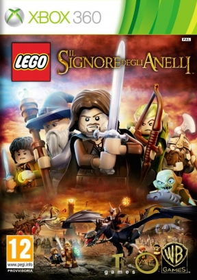 LEGO The Lord of the Rings Xbox 360 Cover