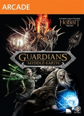 Guardians of Middle-Earth Xbox 360 Cover