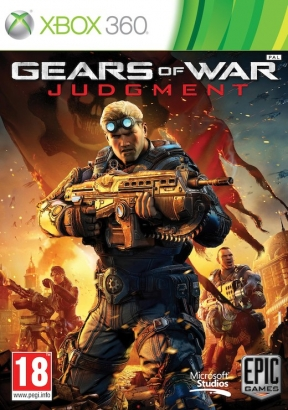 Gears of War: Judgment Xbox 360 Cover