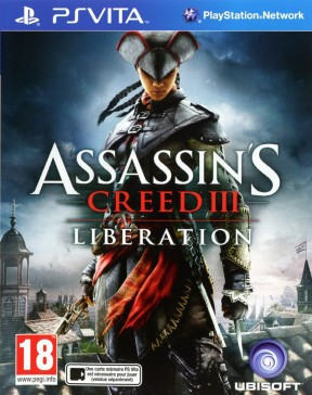 Assassin's Creed III: Liberation PS Vita Cover