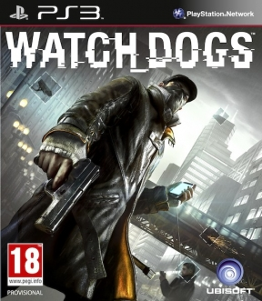 Watch Dogs PS3 Cover