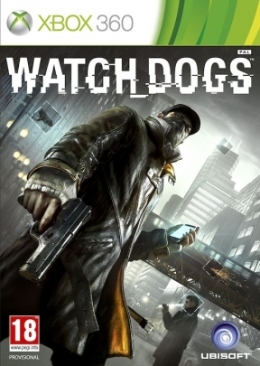 Watch Dogs Xbox 360 Cover