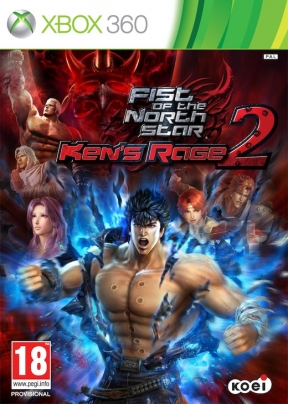 Fist of the North Star: Ken's Rage 2 Xbox 360 Cover