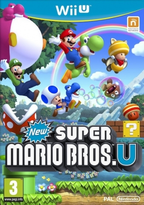 New Super Mario Bros. U Wii U Cover