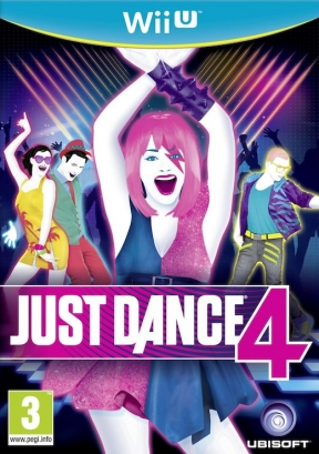 Just Dance 4 Wii U Cover