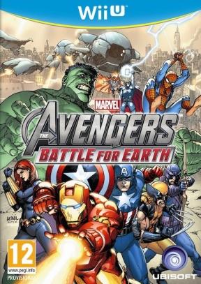 Marvel Avengers: Battle for Earth Wii U Cover