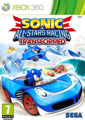 Sonic & All-Stars Racing Transformed Xbox 360 Cover