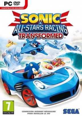 Sonic & All-Stars Racing Transformed PC Cover
