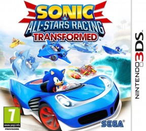 Sonic & All-Stars Racing Transformed 3DS Cover
