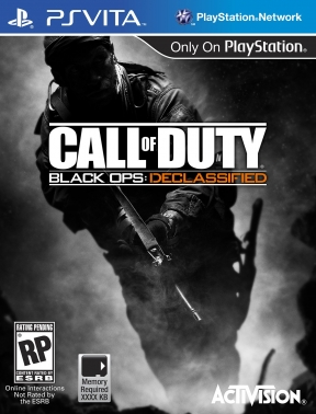 Call of Duty Black Ops: Declassified PS Vita Cover