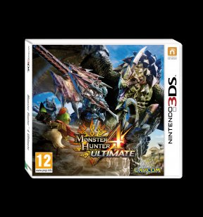 Monster Hunter 4 3DS Cover