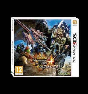 Monster Hunter 4 3DS Cover