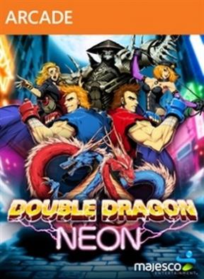Double Dragon Neon Xbox 360 Cover