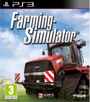 Farming simulator 2013 PS3 Cover