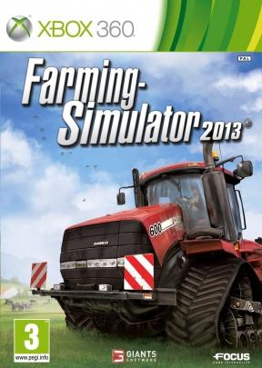 Farming simulator 2013 Xbox 360 Cover