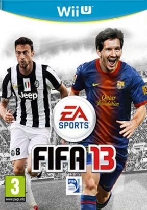 FIFA 13 Wii U Cover