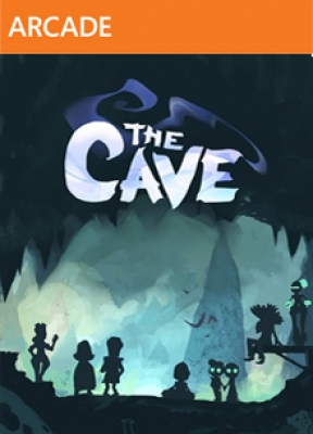 The Cave Xbox 360 Cover
