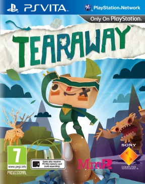 Tearaway PS Vita Cover