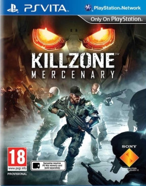 Killzone Mercenary PS Vita Cover