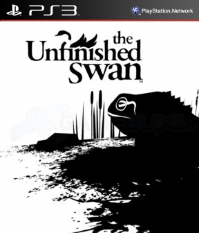 The Unfinished Swan PS3 Cover