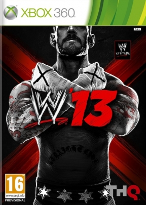 WWE'13 Xbox 360 Cover