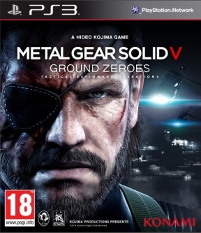 Metal Gear Solid V: Ground Zeroes PS3 Cover