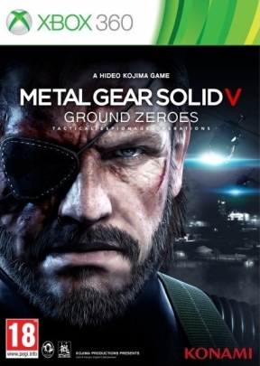 Metal Gear Solid V: Ground Zeroes Xbox 360 Cover