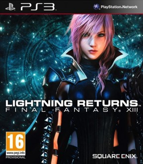 Lightning Returns: Final Fantasy XIII PS3 Cover