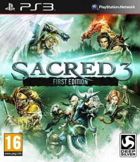 Sacred 3 PS3 Cover