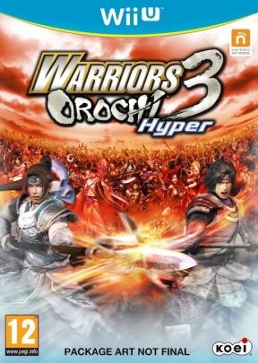 Warriors Orochi 3 HYPER Wii U Cover