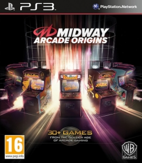 MIDWAY Arcade Origins PS3 Cover