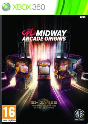 MIDWAY Arcade Origins Xbox 360 Cover