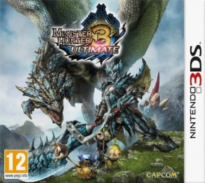 Monster Hunter 3 Ultimate 3DS Cover