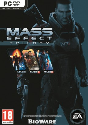 Mass Effect Trilogy PC Cover