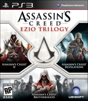 Assassin's Creed: Ezio Trilogy PS3 Cover