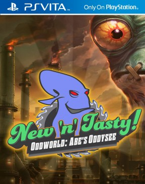 Oddworld: Abe's Oddysee New N' Tasty! PS Vita Cover