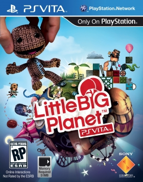 Little Big Planet Vita PS Vita Cover