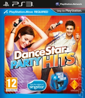 DanceStar Party Hits PS3 Cover