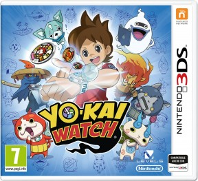 Yo-Kai Watch 3DS Cover