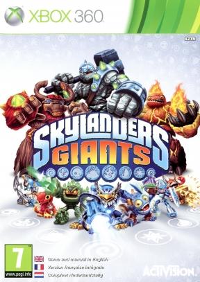 Skylanders Giants Xbox 360 Cover