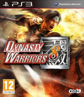 Dynasty Warriors 8 PS3 Cover