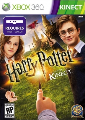 Harry Potter per Kinect Xbox 360 Cover