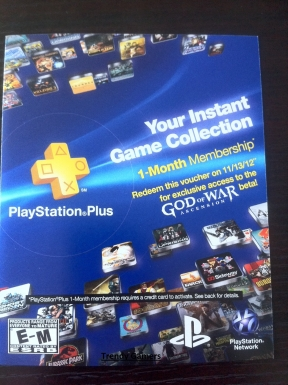 PlayStation Plus 2012 PS3 Cover